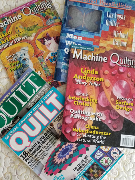 Some of the magazines: