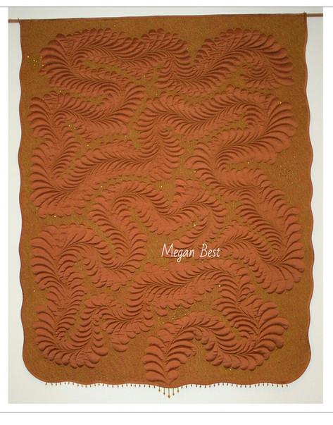 Copper Silk Quilt
