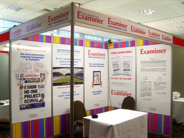 3m x 2m exhibition stand