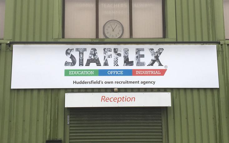 Signage for Stafflex