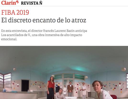 Clarin 2019 - Argentine