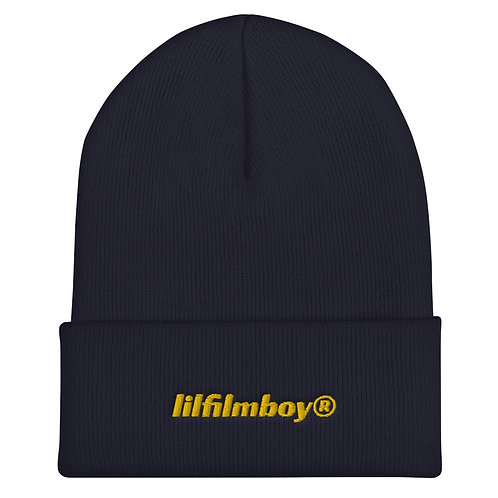 lilfilmboy® embroidered beanie.