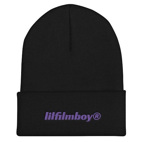 lilfilmboy® embroidered beanie.