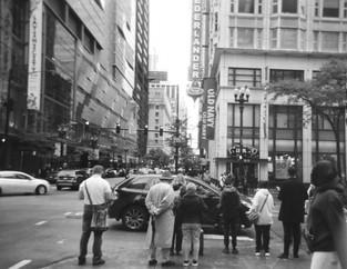 theatre district.