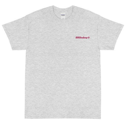 lilfilmboy® embroidered short sleeve tee.