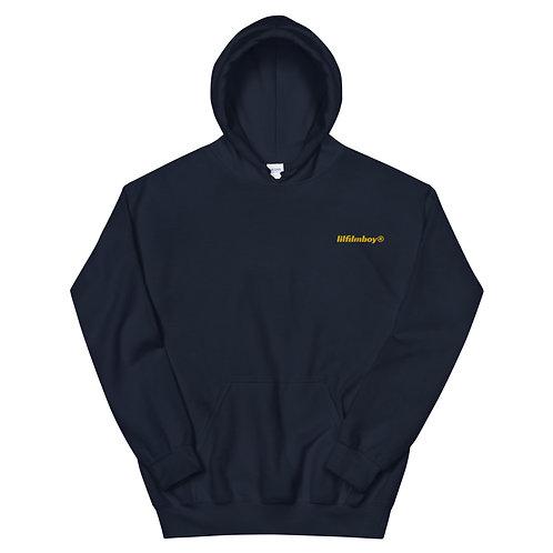 lilfilmboy® embroidered hoodie.