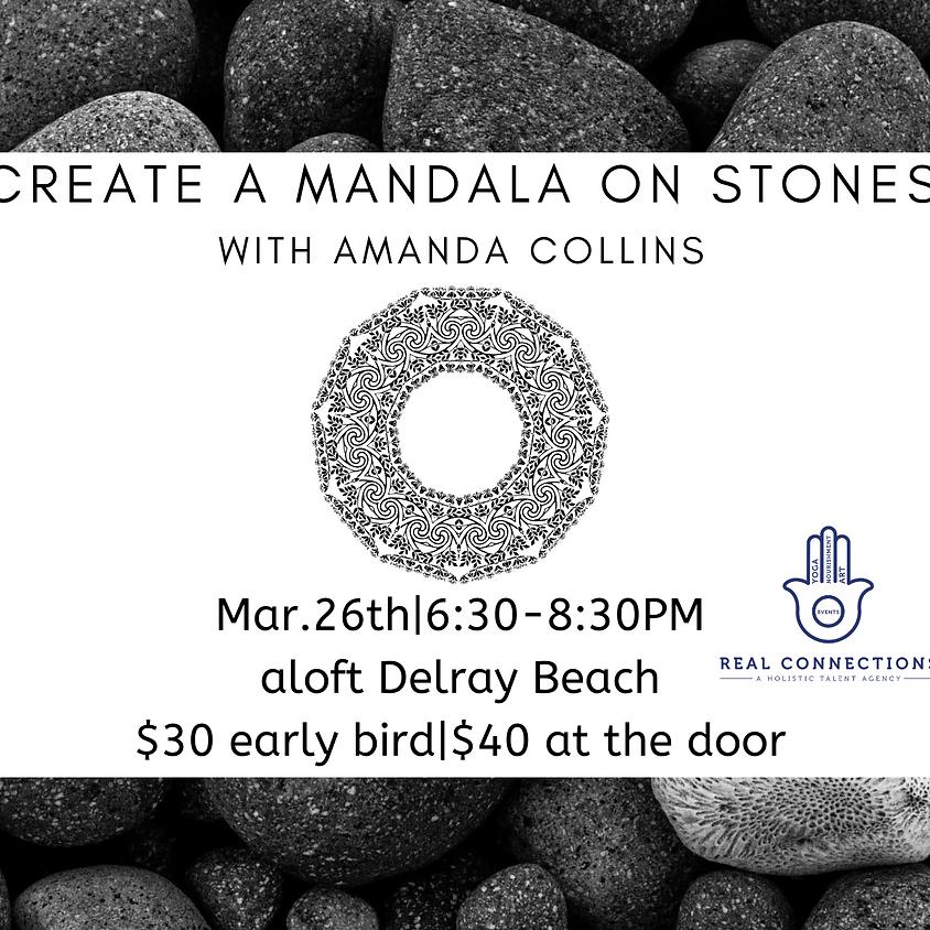 Create a Mandala on River Rocks with Amanda Collins