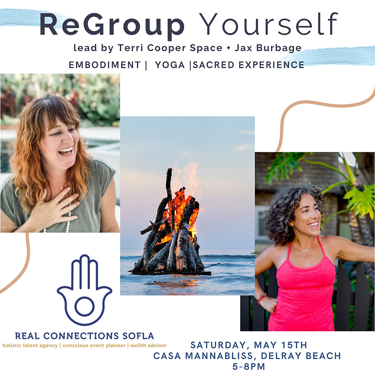 ReGroup Yourself: a mini wellness retreat with Terri Cooper Space + Jax Burbage