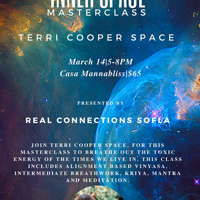 Inner Space Masterclass with Terri Cooper Space