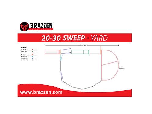 Cattle 20-30 Sweep Yard