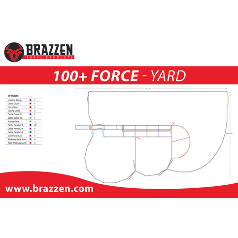 Brazzen 100+ Force