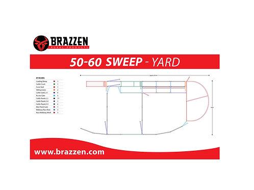 Cattle 50-60 Sweep Yard