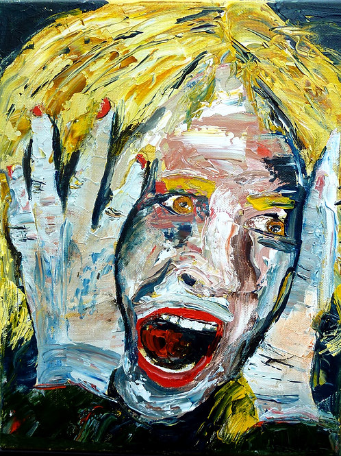 """Scream 3""  Limited Edition, Signed, 11x14 Print. FREE Shipping"