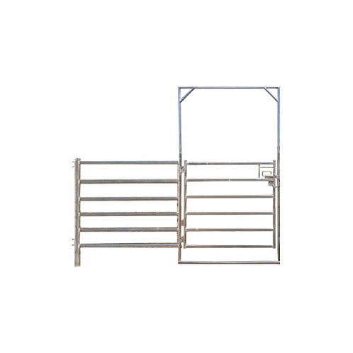 12'L Combo Stand 6 Rail Gate & Panel