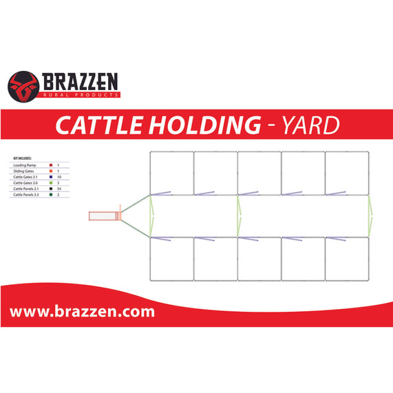 Brazzen Cattle Holding Yards