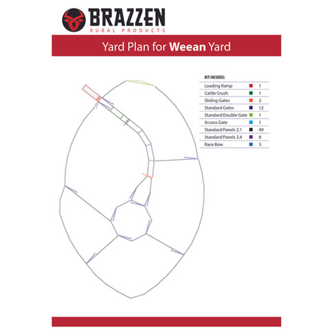 Brazzen Weean Yard