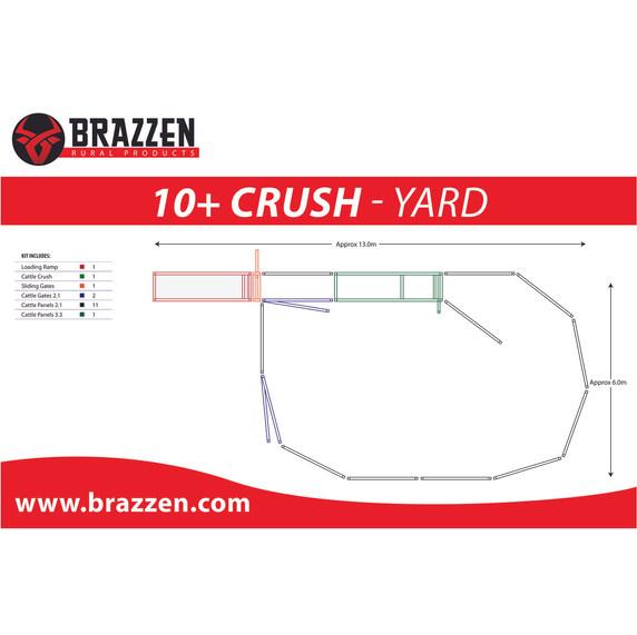 Brazzen 10+ Crush Yard