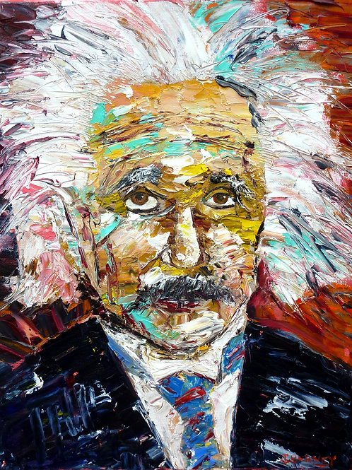 """Einstein""  Limited Edition, Signed, 11x14 Print. FREE Shipping!"