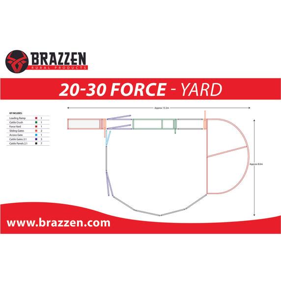 Brazzen 20-30 Force