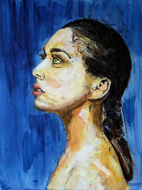 """Revelation,"" acrylic/canvas, 16 x 20 inches"