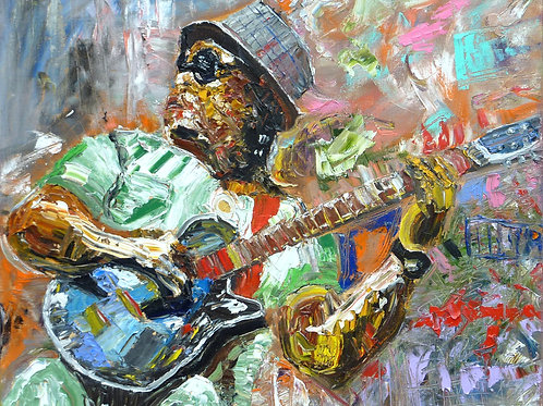 """Bluesman"" 11x14 Limited Edition Fine Art Print"