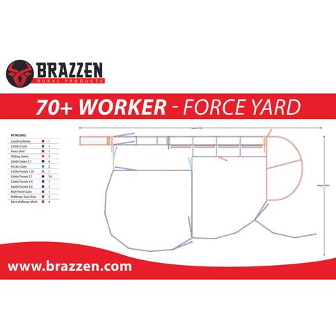 Brazzen 70+ Worker