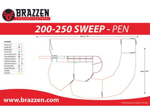 4R Cattle 200-250 Sweep Pen Edit