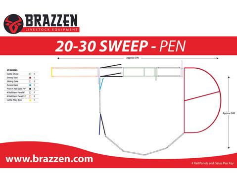 4R Cattle 20-30 Sweep Pen Edit