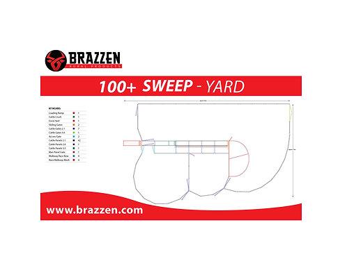 Cattle 100+ Sweep Yard