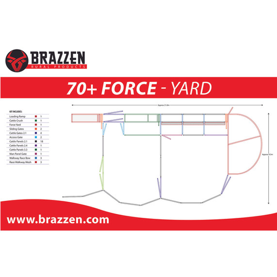 Brazzen 70+ Force