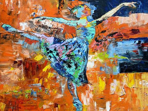 """Dancer""  Limited Edition, Signed, 11x14 Print. FREE Shippi"