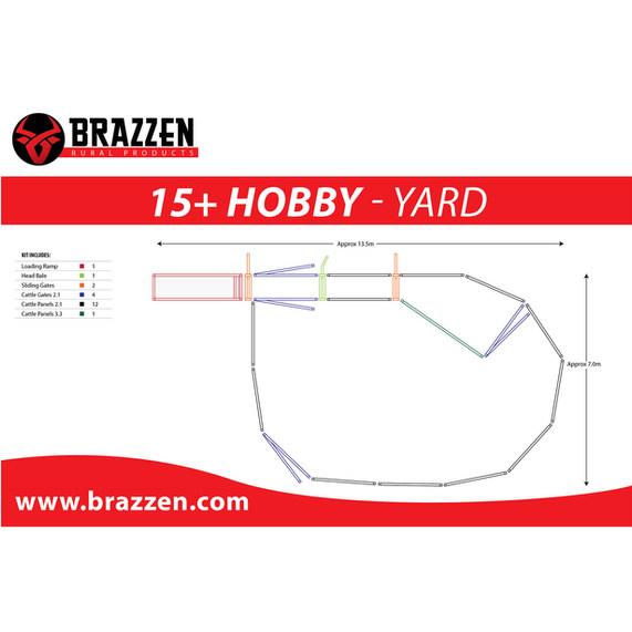 Brazzen 15+ Hobby Yard