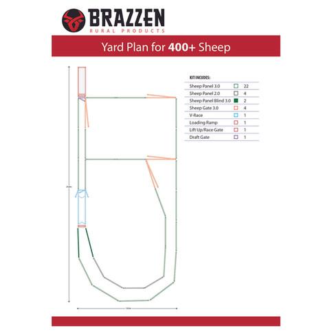 Brazzen Sheep Yard 400+