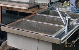 Stainless Steel Triple Sinks