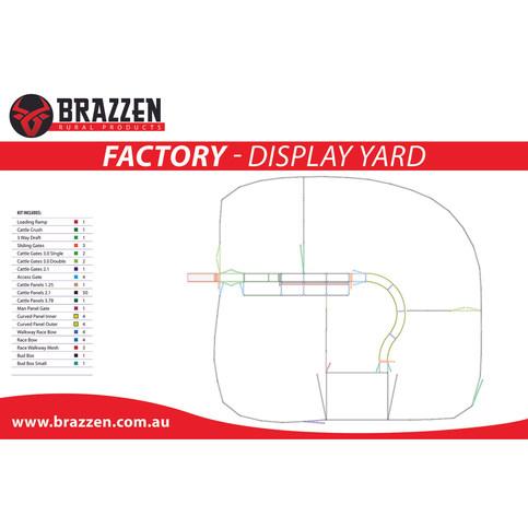 Brazzen Factory Display Yard