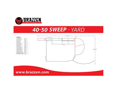 Cattle 40-50 Sweep Yard
