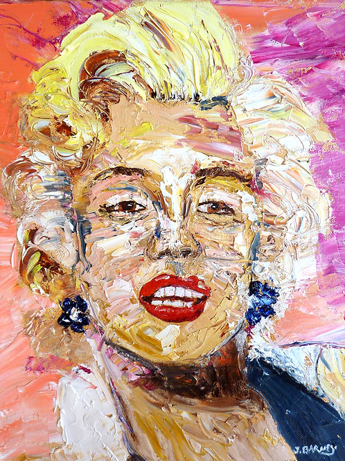 """Marilyn""  Limited Edition, Signed, 11x14 Print. FREE Shipping"