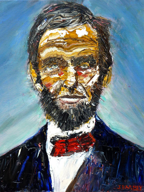 """Lincoln""  Limited Edition, Signed, 11x14 Print. FREE Shipping"