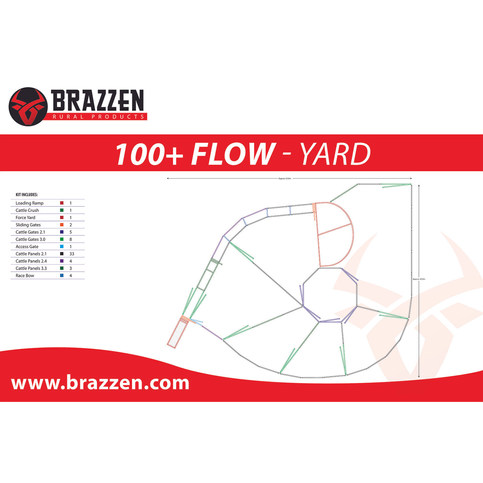 Brazzen 100+ Flow