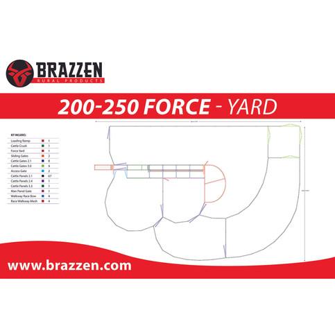 Brazzen 200-250 Force
