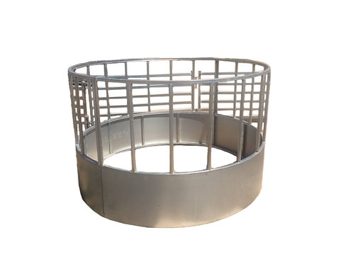 Round Bale Feeder - Straight Bar