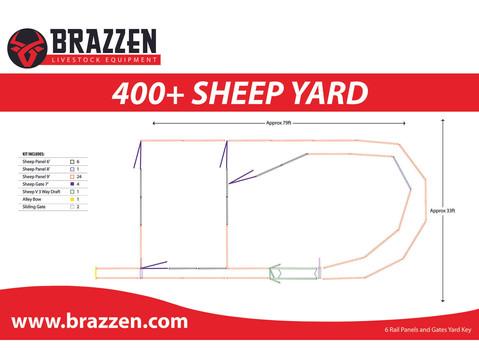 BRAZZEN SHEEP Pen 400+