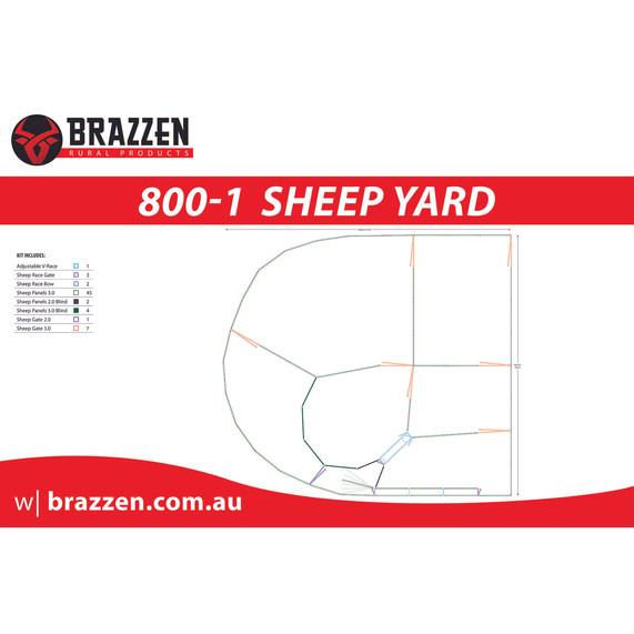 Brazzen Sheep 800-1