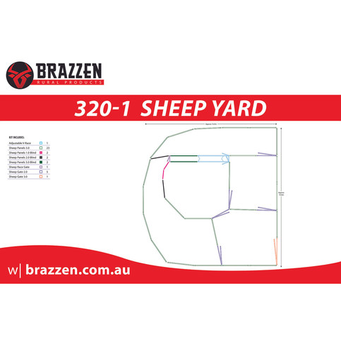Brazzen Sheep 320-1