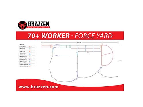 Cattle 70+ Worker Yard