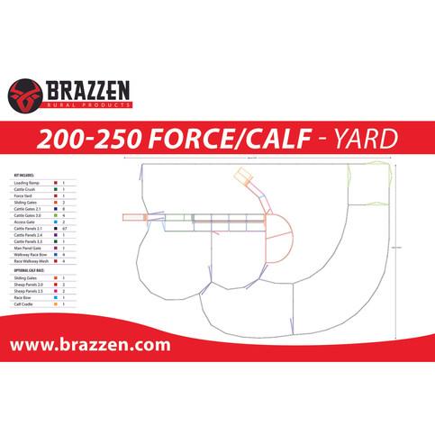Brazzen 200-250 Force-Calf