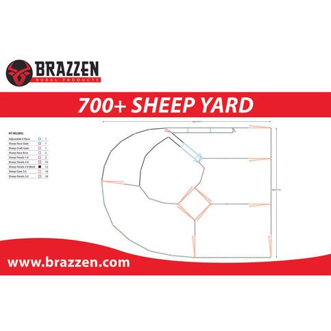 Brazzen 700+ SHEEP YARD