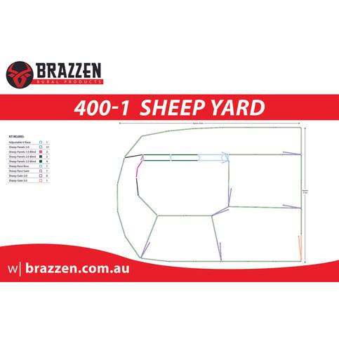 Brazzen Sheep 400-1