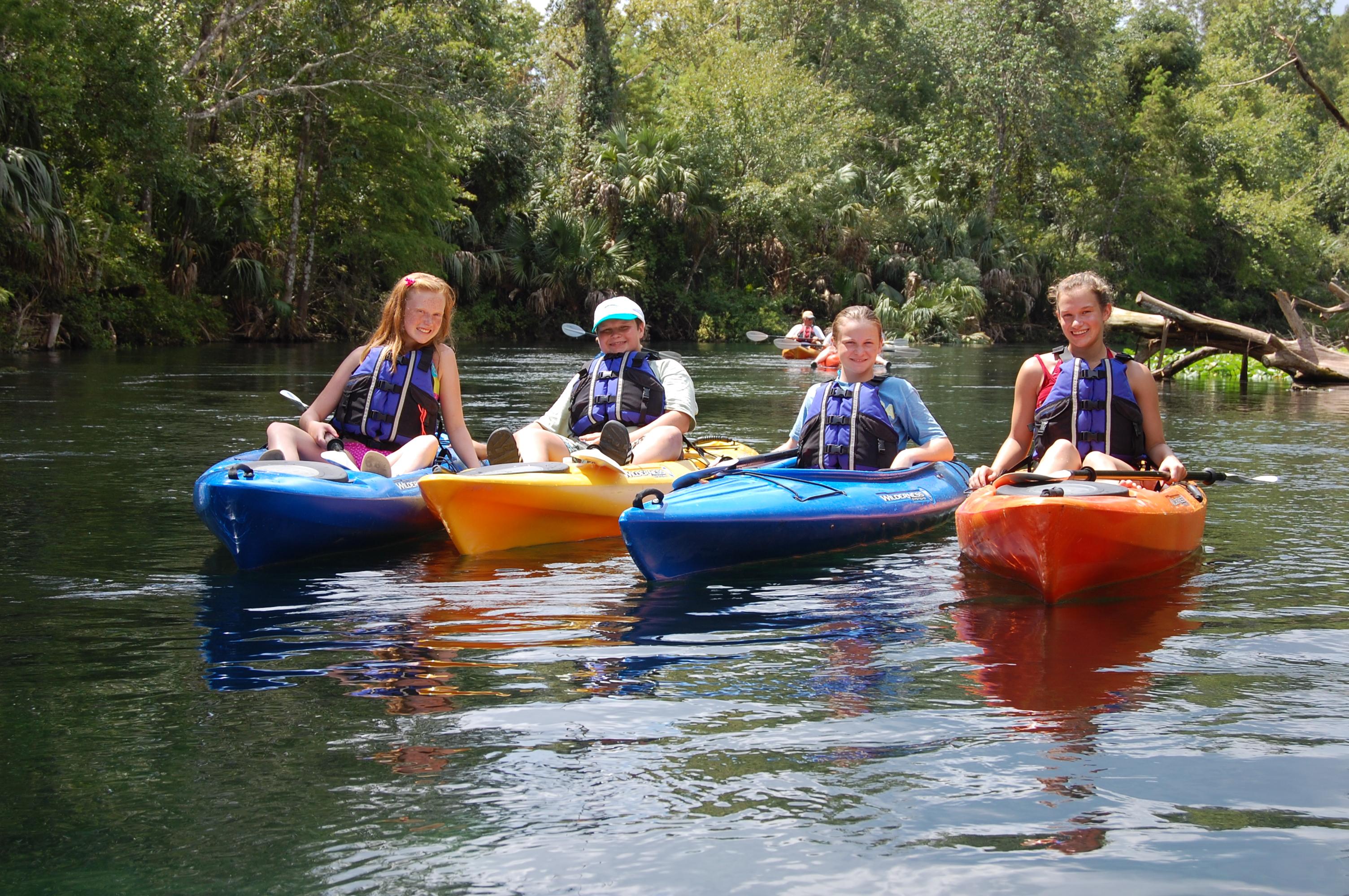 Silver Springs kayak rentals 1