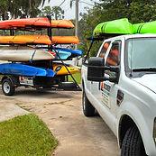 Silver River kayak rentals, Silver river shuttle service